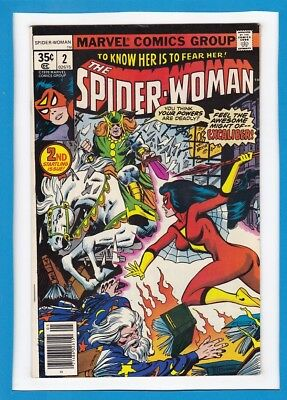 SPIDER-WOMAN #2_MAY 1978_VERY FINE_2nd STARTLING ISSUE_BRONZE AGE MARVEL!