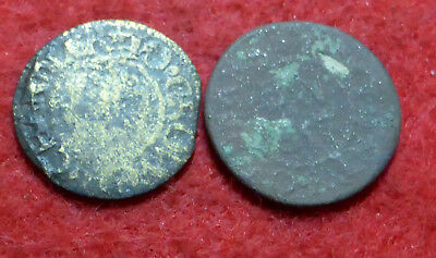 2 17th C Tokens
