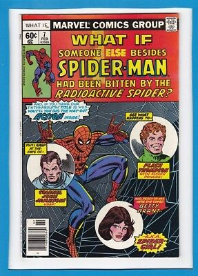 """What If #7_Feb 1978_Very Fine_""""what If Someone Besides Spidey Had Been Bitten""""!"""