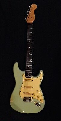 REDUCED TODAY Tribute 1961 Stratocaster, slab board, vintage PUPS,saddles,tuners