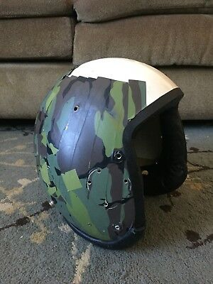 Pilot Flight Helmet HGU-26 Shell Project Size X-Large Taped USAF B-52 / F-111