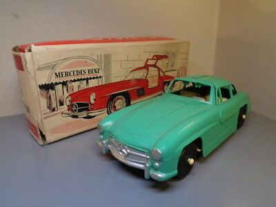 Tootsietoy Usa Vintage 1960's Mercedes Benz 300 Sl Ultra Rare Very Good In Box