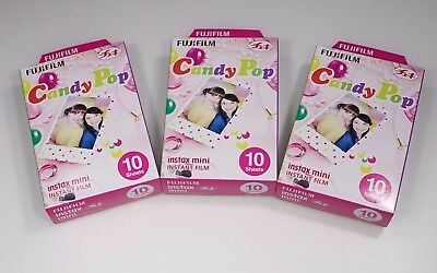 Fujifilm Instax Mini Candy Pop Film - 3 packs from U.S.A.