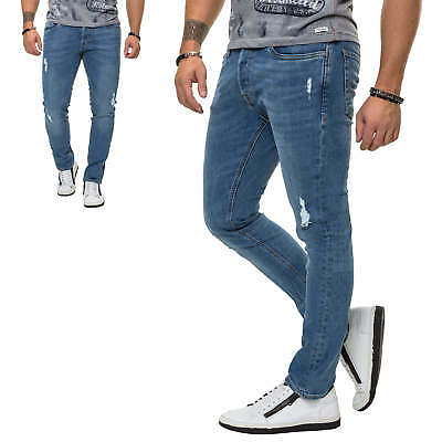 Jack & Jones Skinny Jeans Herrenhose Jeanshose Regular Fit Slim Fit Casual Denim