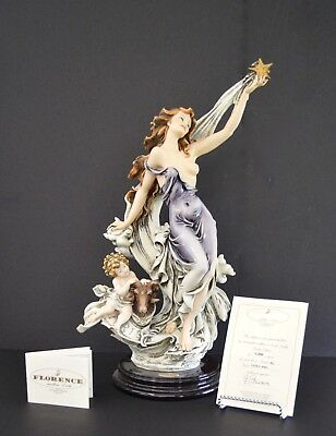 New Giuseppe Armani Figurine 1554/c Aries (5000 Pieces) Coa