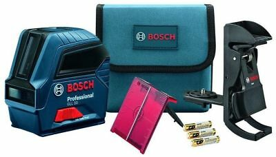 Bosch Tools Self-Leveling Cross-Line Laser w/ Pulse GLL2-50 New Professional Kit