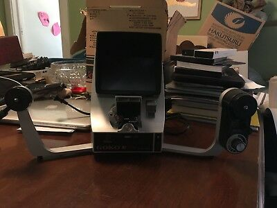 Super 8 Film Editor Goko Nf 3003 Made In Japan Great Condition