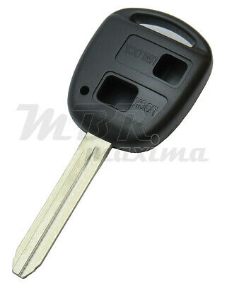 2 BUTTON REMOTE KEY FOB BLANK FOR TOYOTA LAND CRUISER COROLLA Hi-ACE TOY18