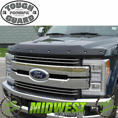FormFit Textured Tough Guard Hood Protector For 2017-2018 Ford F-250 F-350