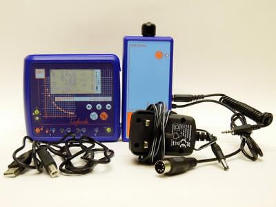 ScienceScope GLE Logbook Data Logger + Cables & Radioactivity Count Rate Sensor