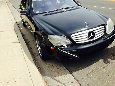 2002 Mercedes-Benz E-Class S-500 2002 Mercedes Benz S-Class 500 - Passenger Front Damage Only - Low Miles