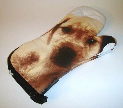 Pair of Puppy Dog Oven Mitts Humane Society of Canada 100% Cotton
