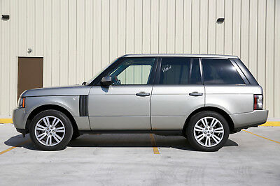 2010 Land Rover Range Rover Sport HSE LUX 2010 Range Rover HSE lux 114K, Silver with Brown Interior