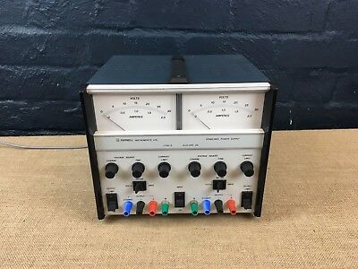 Farnell Lt30-2 Stabilised Analogue Power Supply Twin Output 0-30V