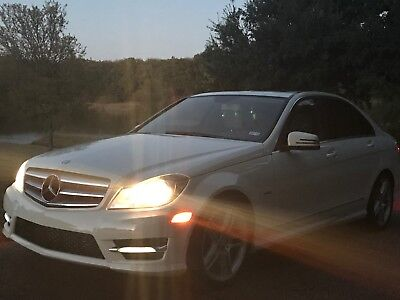 2012 Mercedes-Benz C-Class Sport 2012 White Mercedes C250, 20k miles, garage kept, one owner, clean carfax