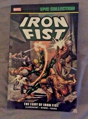 Iron Fist - The Fury Of Iron Fist - Epic Collection - Marvel Paperback