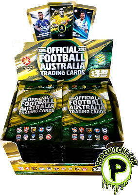 SOCCER ~ 2016/17 FFA & A-League Tap 'N Play Trading Cards Sealed Box (36ct) #NEW