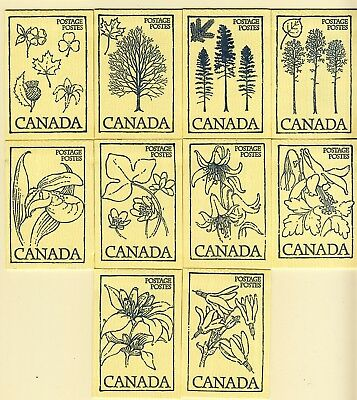 1979 #bk80 Parliament Issue Booklet Complete Set Of 10 Vfnh