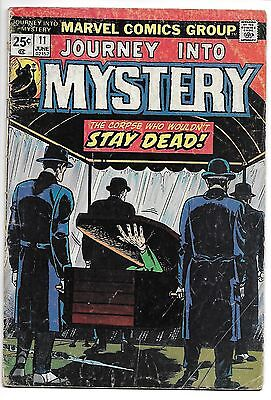 JOURNEY INTO MYSTERY #11 and WEIRD WONDER TALES #21 Horror set!