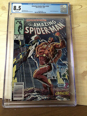 The Amazing Spider-Man #293 (Oct 1987, Marvel) CGC 8.5 Kraven Vermin appearance