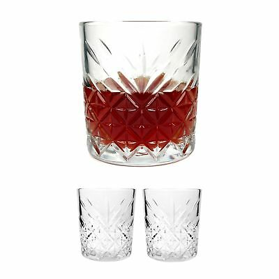 ginsanity 2 x Roaring 20s intemporel VINTAGE ANCIENNE MODE / WHISKY VERRES