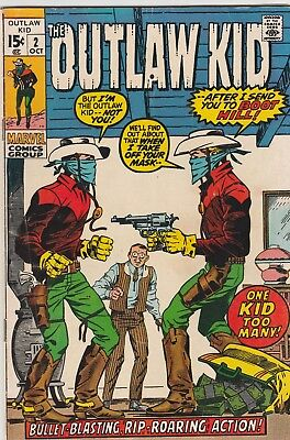 The Outlaw Kid (Lot Of 3) #2, 20,21 Very Good+ To Fine Herb Trimpe/doug Wildey