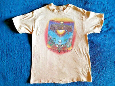 VINTAGE GRATEFUL DEAD T-SHIRT with AOXOMOXOA RICK GRIFFIN ARTWORK FROM 1969