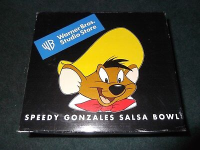 Warner Brothers Store Speedy Gonzales Salsa Bowl in Box