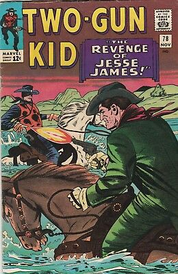 Two-Gun Kid (Lot Of 6) #78, 89, 96,115, 116,135 Vg To Fine Lieber/ayers/trimpe!!