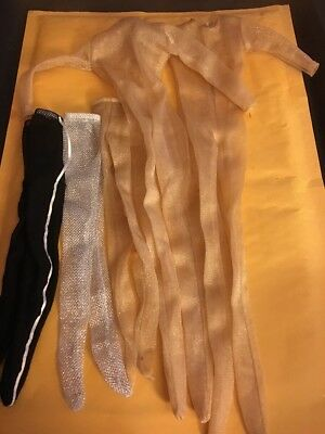 "Tonner Doll Co 3 Pair Of Tyler Size Nylons & 2 -17"" Matt Size Body Suits"