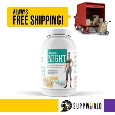 Maxine's Night Time Protein Powder   Slow Release   Fat Burning Protein Powder