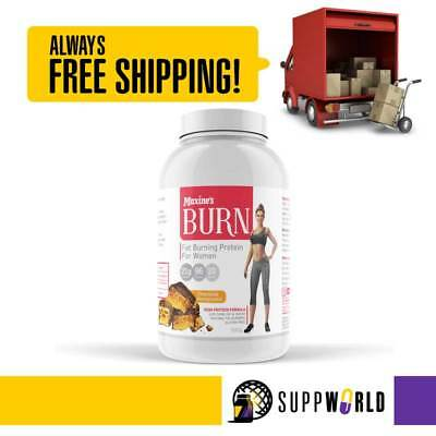 Maxine's Burn Thermogenic Protein   Lean Protein For Women   Fat Burning Protein