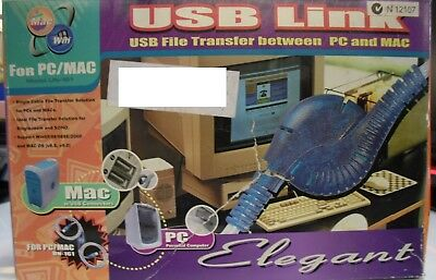 Brand New Aten USB PC/MAC Link File Transfer Cable - Retail Box - Aged Stock