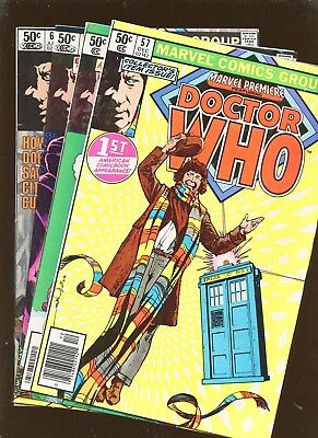 Marvel Premiere 57, 58, 59, 60 * 4 Book Lot * 1st American Dr Who Appearance!!!