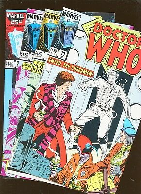 Doctor Who 13, 14, 15, 22 * 4 Book Lot * Dave Gibbons!!!