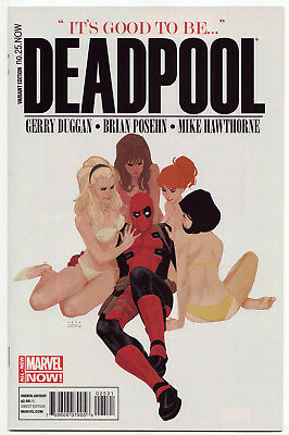 DEADPOOL #25 Phil Noto 1:50 Variant Marvel Now