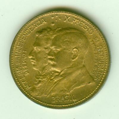 Brazil Uncirculated 1922 500 reis-Lot E32