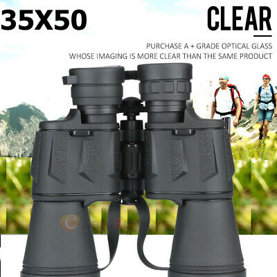 60x50 Zoom Day Night Vision Outdoor Travel HD Binoculars Hunting Telescope Case