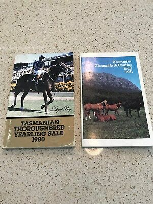 1980 - 1996 Tasmanian Yearling Sale Catalogues x 16