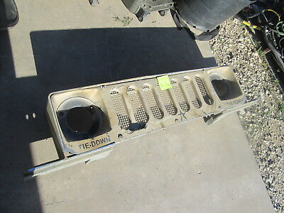 Used ECV Grill & Frame, Damaged, for HMMWV M1114 M1151