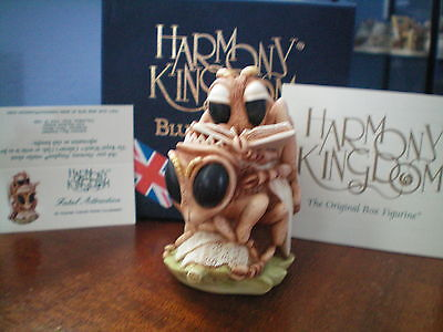 Harmony Kingdom Fatal Attraction Bee Mating Blue Box UK Made Sg LE NIB