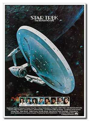 Star Trek The Motion Picture 24x33inch Classic Old Movie Space ship Silk Poster