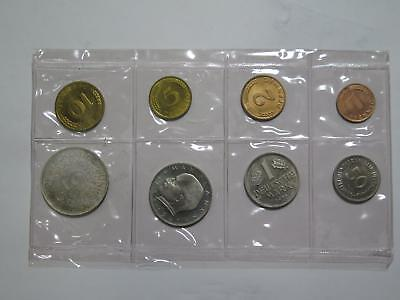 Germany 1965 1950 G Proof Type Set Mark Pfennig Old World Coin Collection Lot
