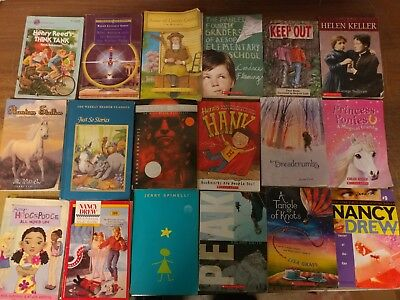 Lot of 60 Chapter Scholastic Disney RL 2 3 4 5 Child Books AR MIX UNSORTED #C27