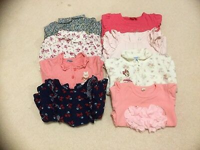 Pre-loved Baby Girl Long Sleeve Tops, 18-24 Mths, CountryRoad, Zara, Esprit....