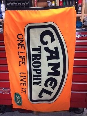 Camel Off road Trophy Flag ~ discovery expedition G4 dakar arb series Defender