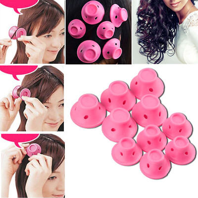 20Pcs Silicone Hair Curler Magic Hair Care Rollers No Heat Hair Styling Tool