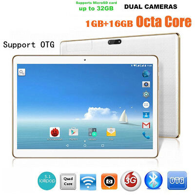10.1 Inch Tablet PC 4G + 64G Android 6.0 Dual SIM &Camera GPS Phone Wifi Phablet