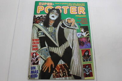 Kiss - Super - Poster Magazine #13 1980 Ace Frehley Cover  Supersized Poster Mag