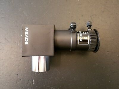 MEADE Electronic Digital Series Telescope DS-114 EyePiece Holder w/2x Barlow